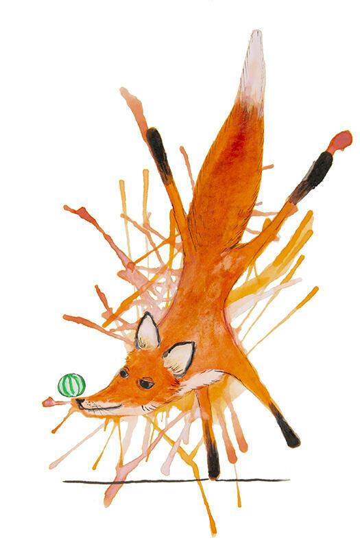 A Well Balanced Fox   Trada Marketplace
