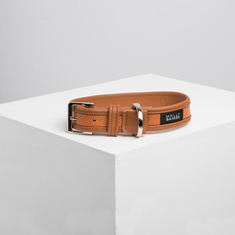 Sasha Dog Collar Brown | Trada Marketplace