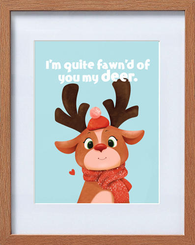 cute deer frame | Trada Marketplace