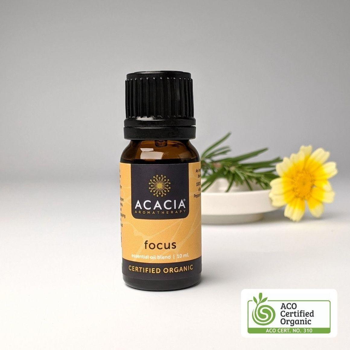 Focus Certified Organic Essential Oil Blend   Trada Marketplace