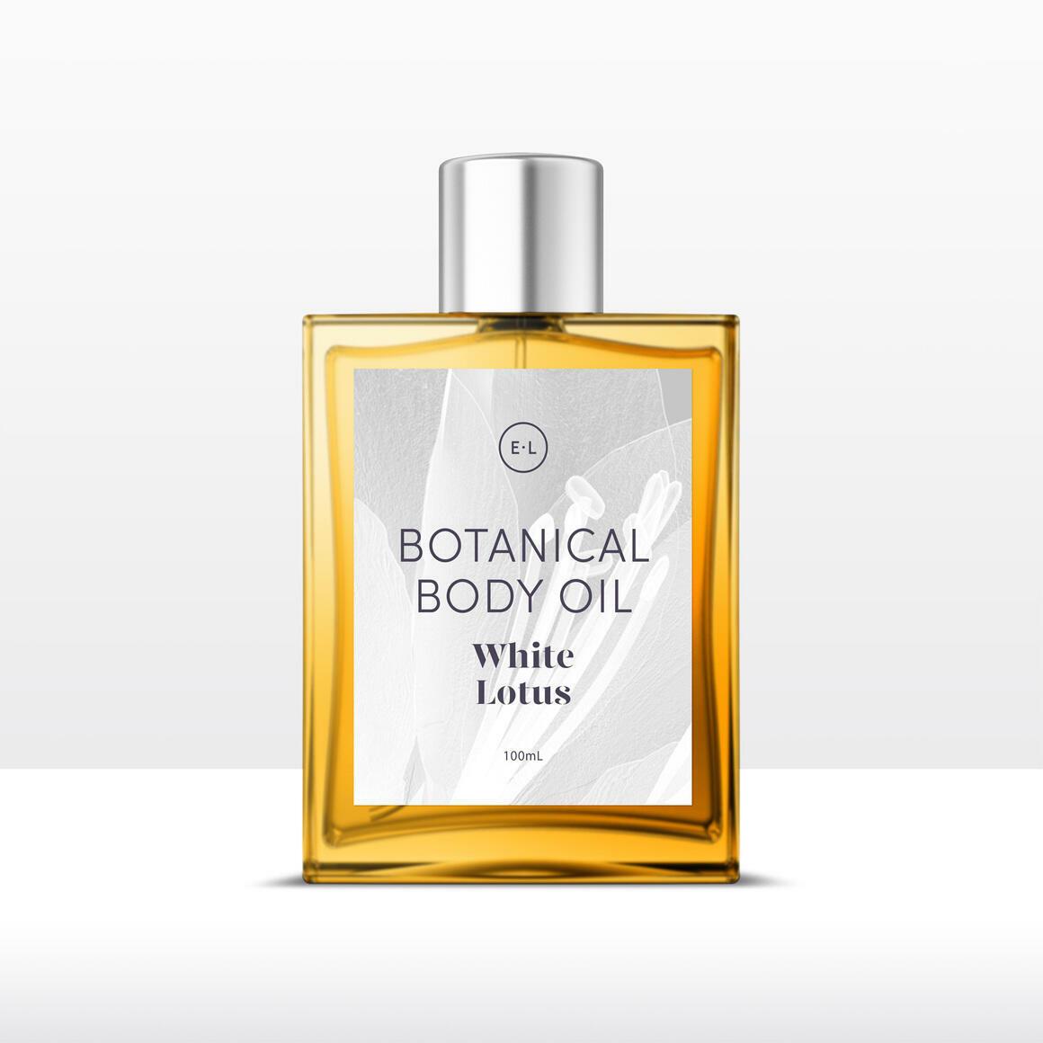 White lotus botanical body oil   Trada Marketplace