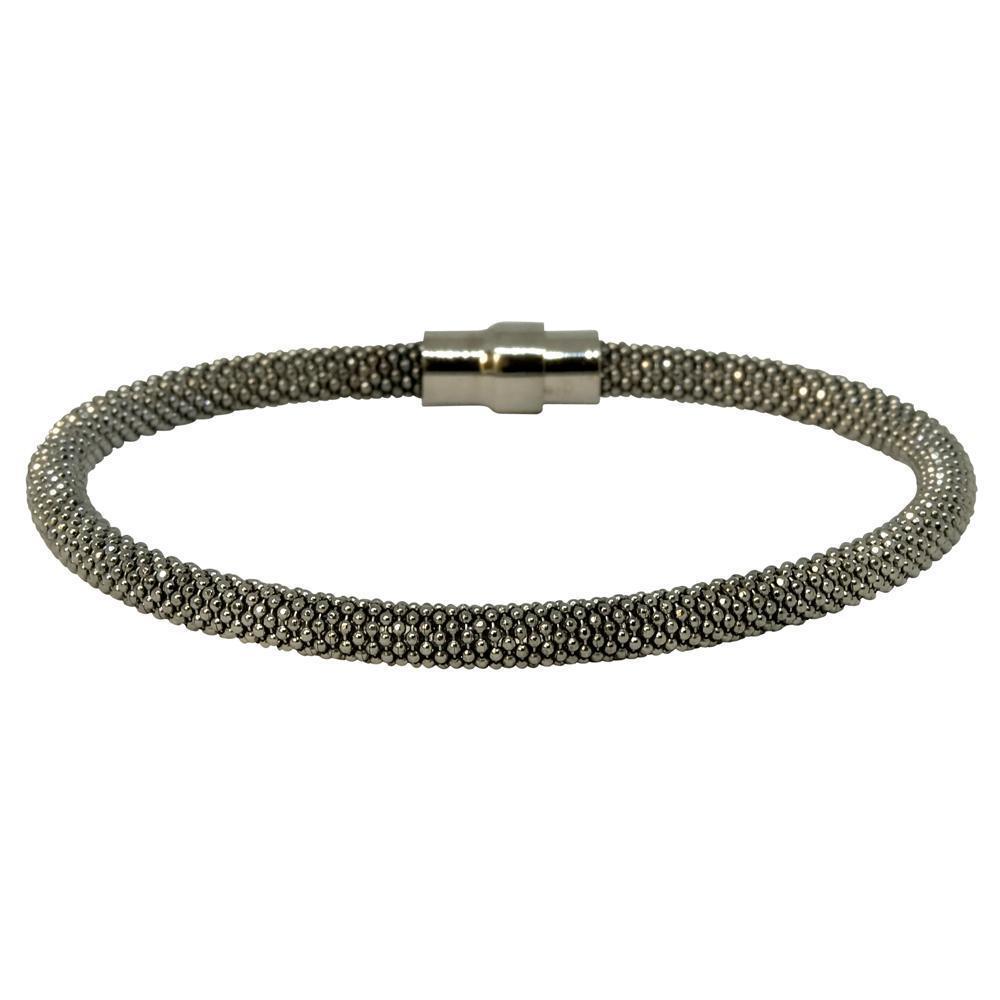 Laser Snake Bracelet - Black  | Trada Marketplace