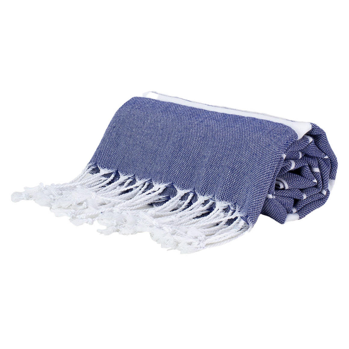 THIN TURKISH TOWELS NAVY STRIPES | Trada Marketplace