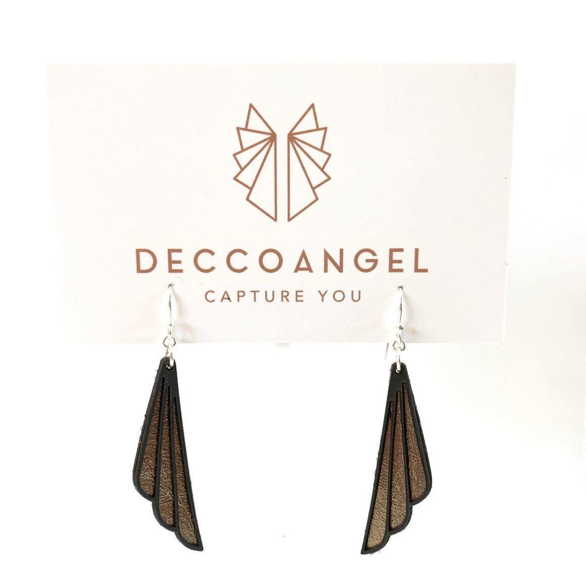 Art Deco Shell Earrings Large | Trada Marketplace