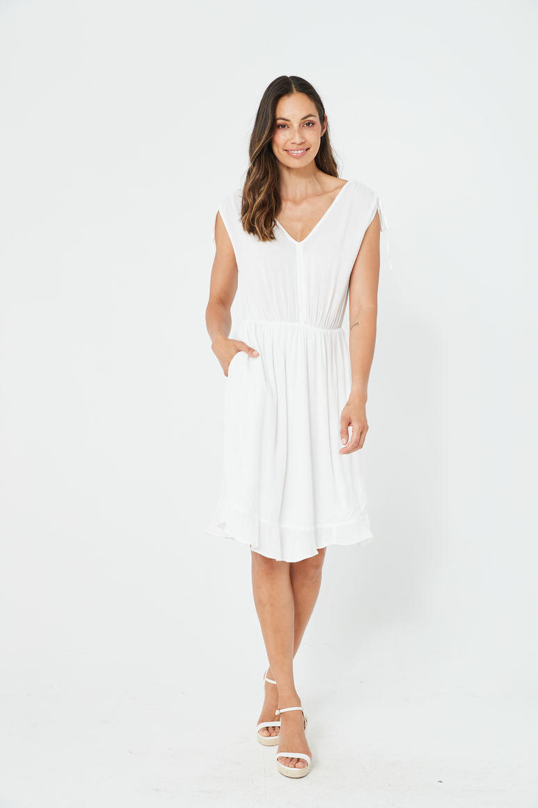 BOBBI Dress | White | Trada Marketplace