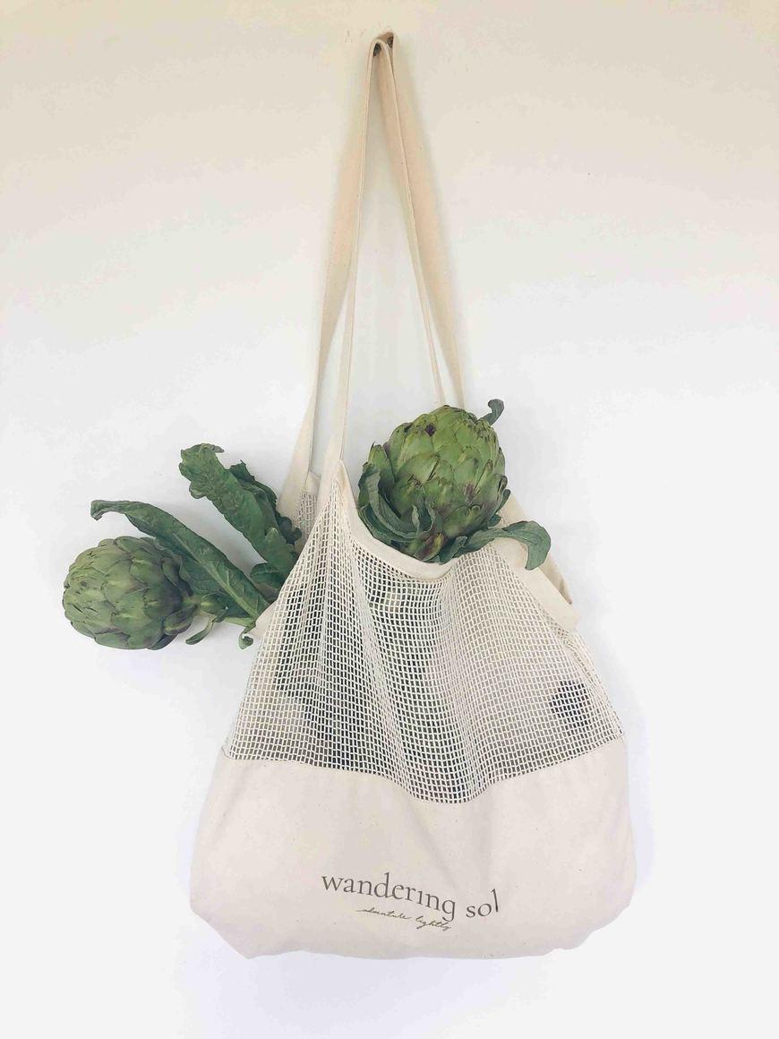 MARKET SOL TOTE Canvas Produce Bag | Trada Marketplace