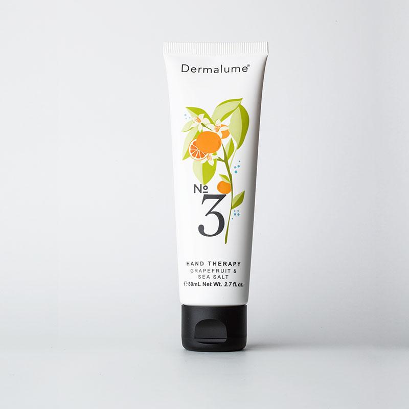 NO.3 GRAPEFRUIT & SEA SALT HAND THERAPY – DERMALUME-80 ml | Trada Marketplace