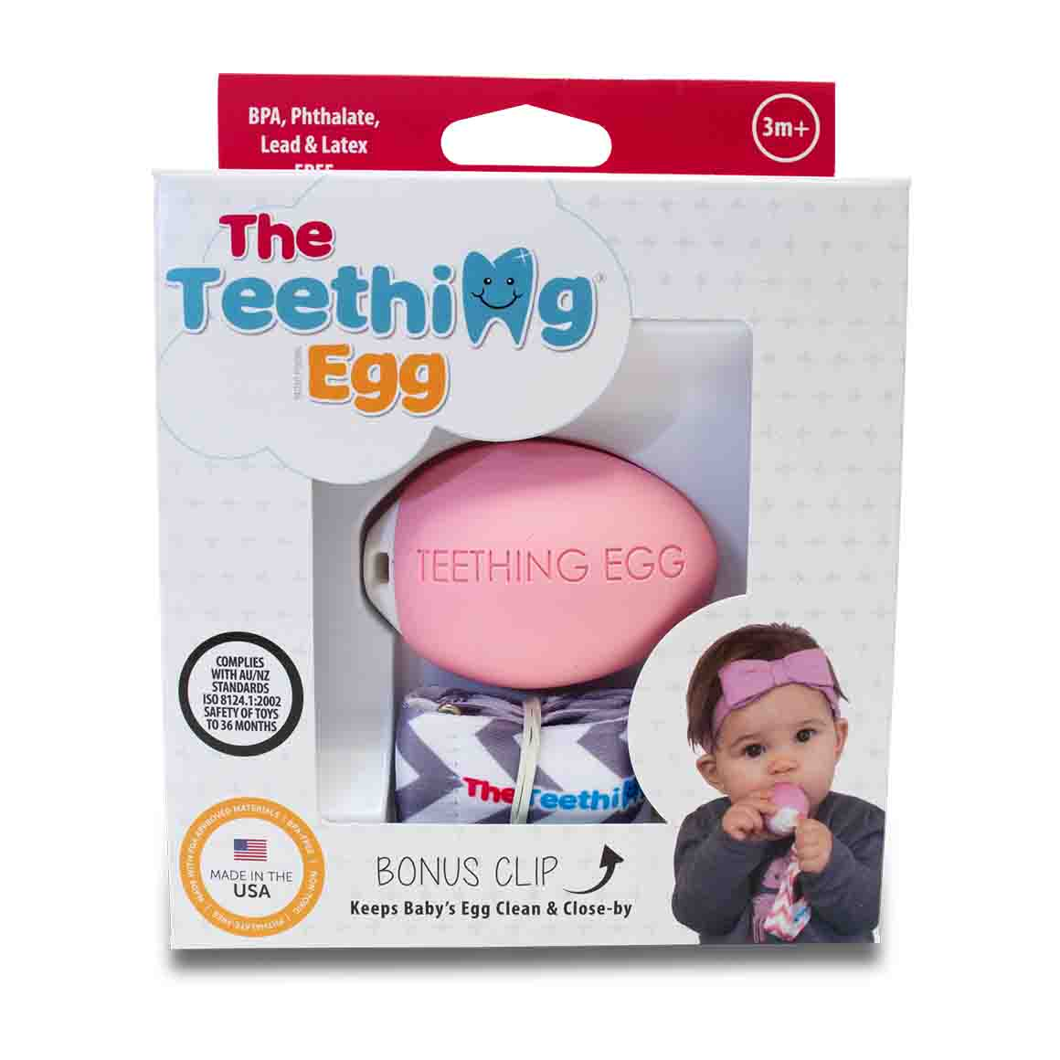 The Teething Eggs Pink | Trada Marketplace