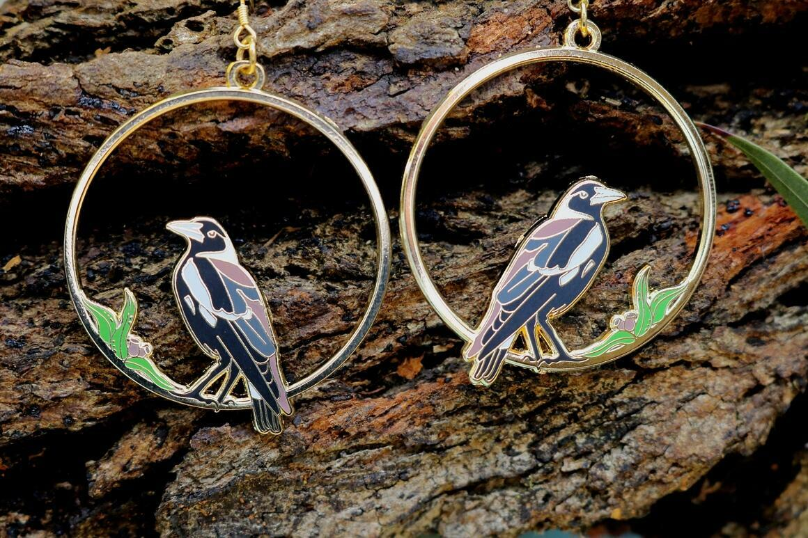 Magpie Earrings | Trada Marketplace