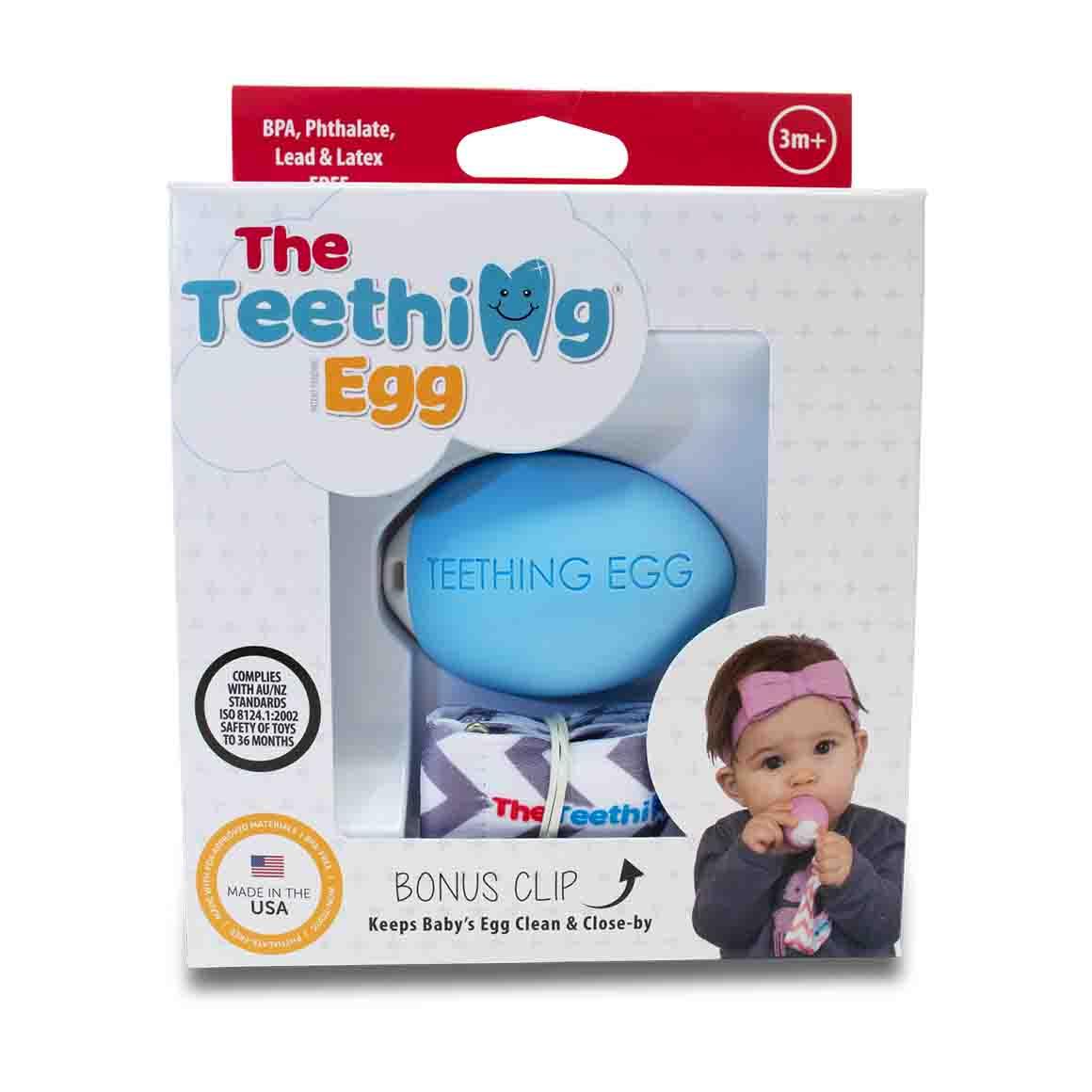 The Teething Eggs Blue | Trada Marketplace