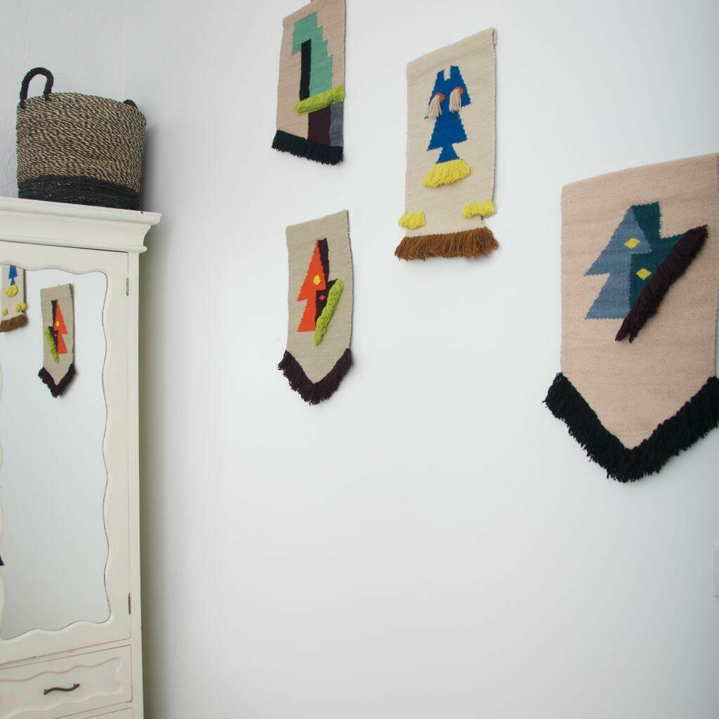MINI WALL HANGING ART MACRAME - EVA | Trada Marketplace