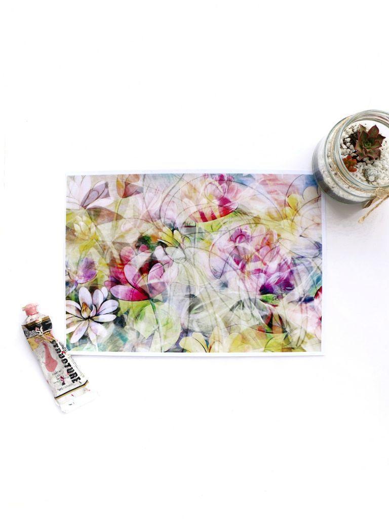 New Years Bloom Print | Trada Marketplace