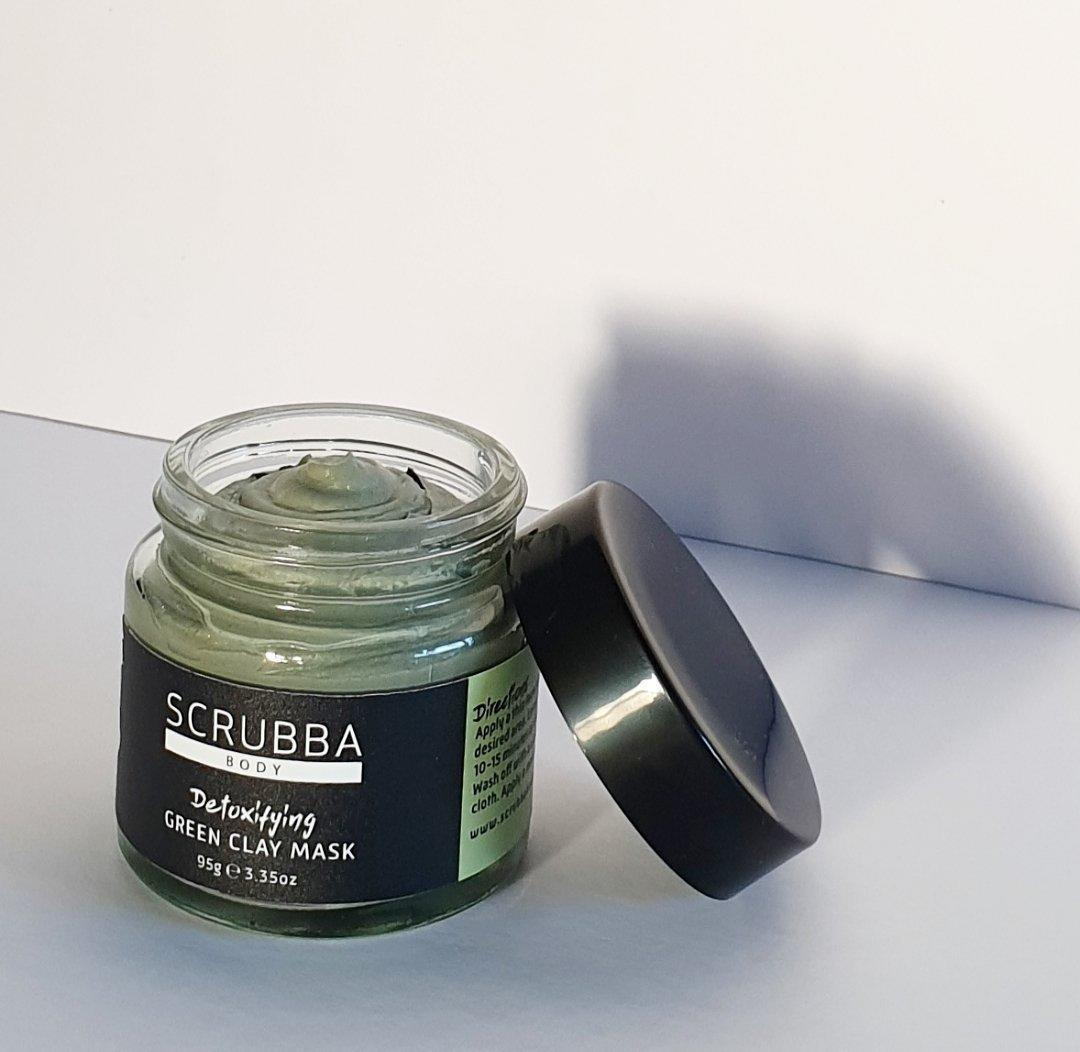 Detoxifying Green Clay Face Mask | Trada Marketplace