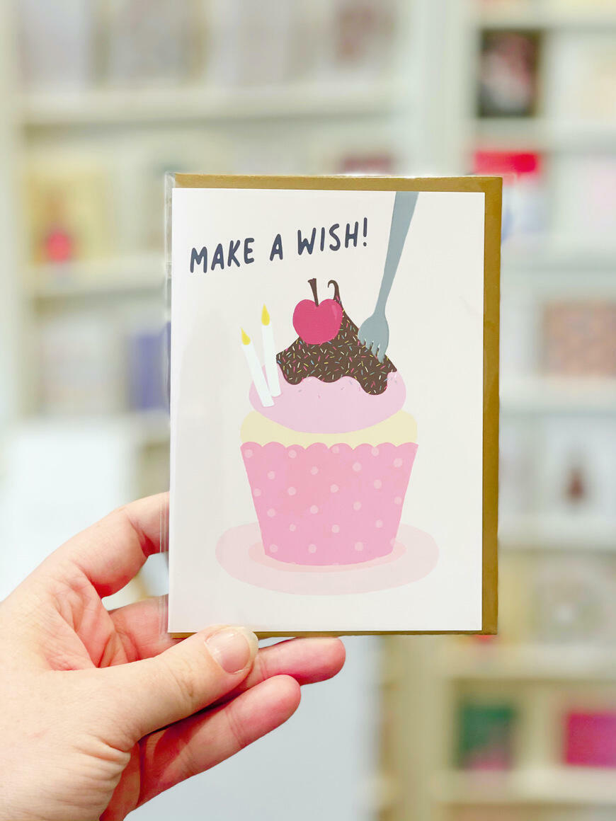 Make A Wish Birthday Card   Trada Marketplace