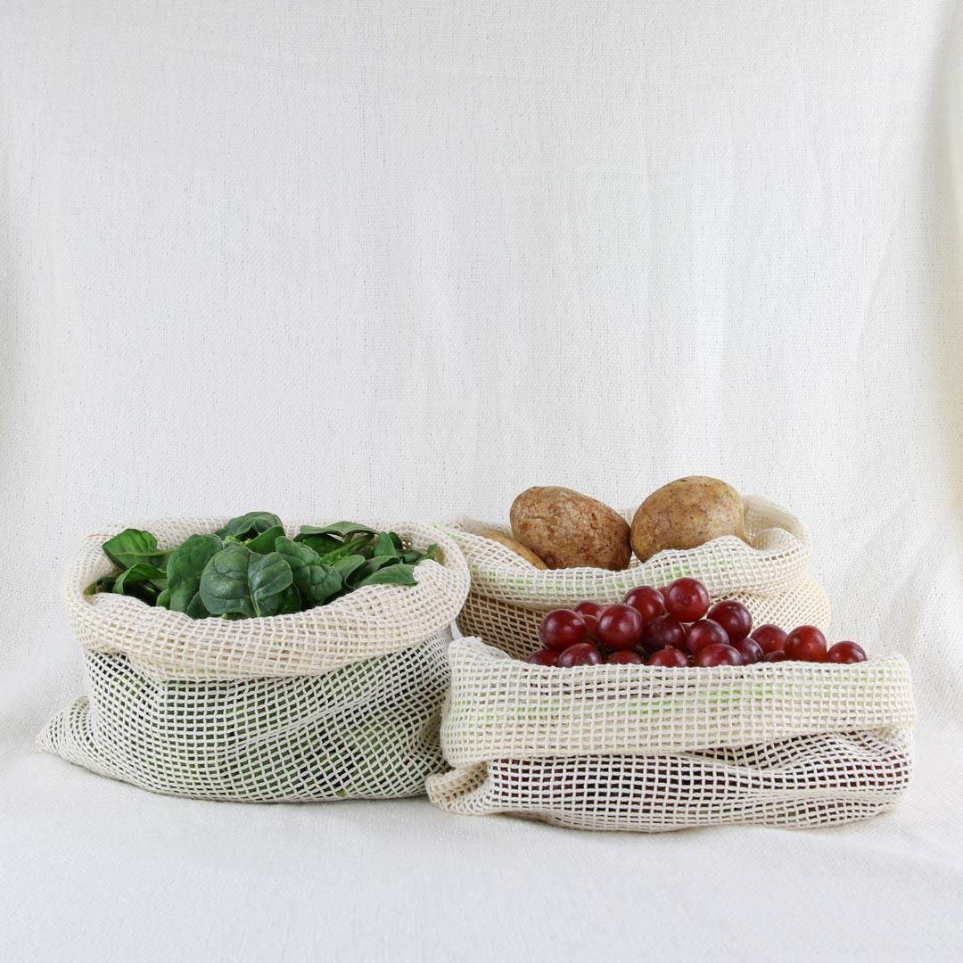 Reusable Mesh Produce Bags   Trada Marketplace