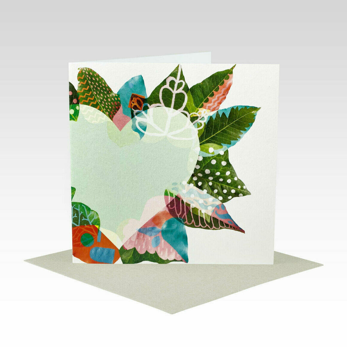 GEN075 – Painted Leaves Heart   Trada Marketplace