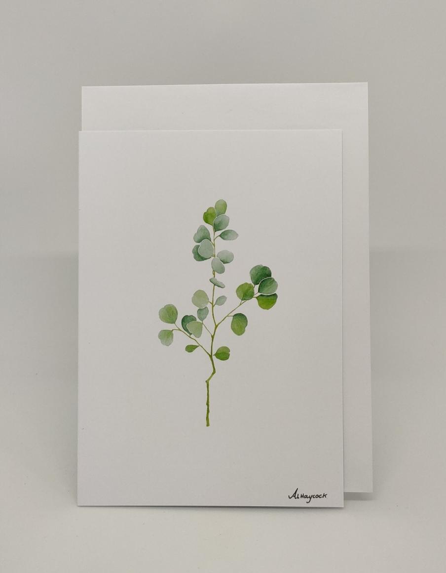 Gum Leaf Card | Trada Marketplace
