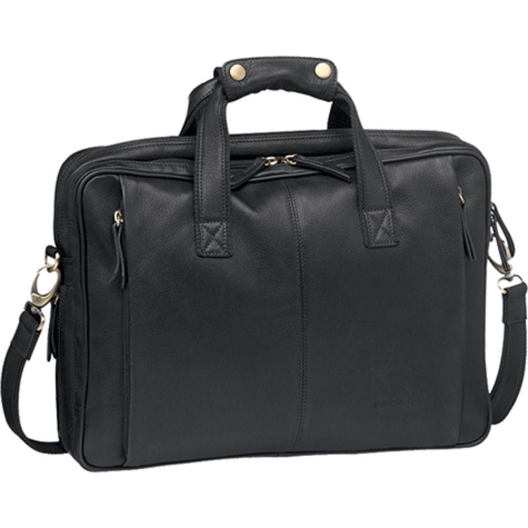 Pierre Cardin Leather Messenger/Laptop Bag   Trada Marketplace