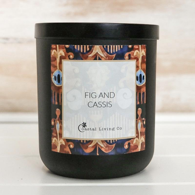 Fig and Cassis 280g Standard Black | Trada Marketplace