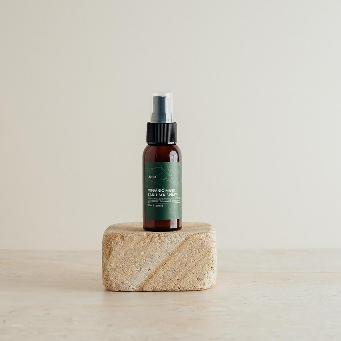 Organic Mask Sanitiser Spray - 50ml   Trada Marketplace