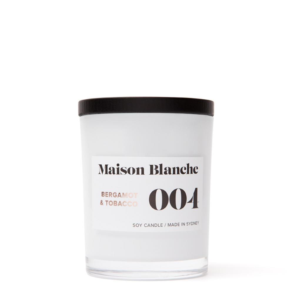 Bergamot & Tobacco / Medium Candle | Trada Marketplace