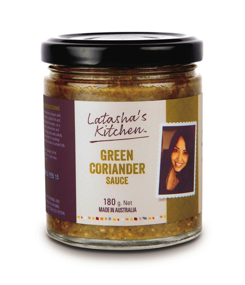 Green Coriander Sauce - SPICY - V   Trada Marketplace