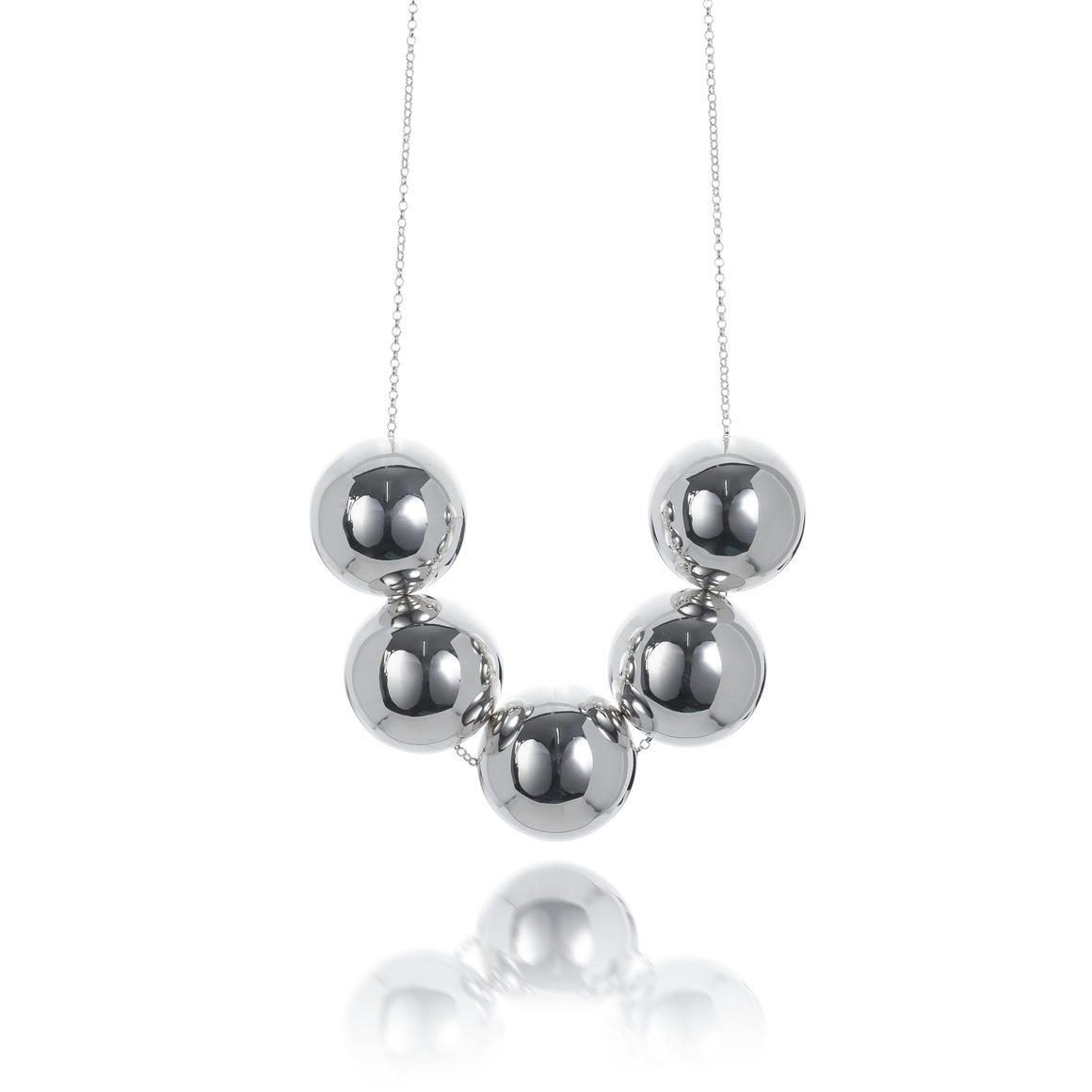 5 Ball Necklace | Trada Marketplace