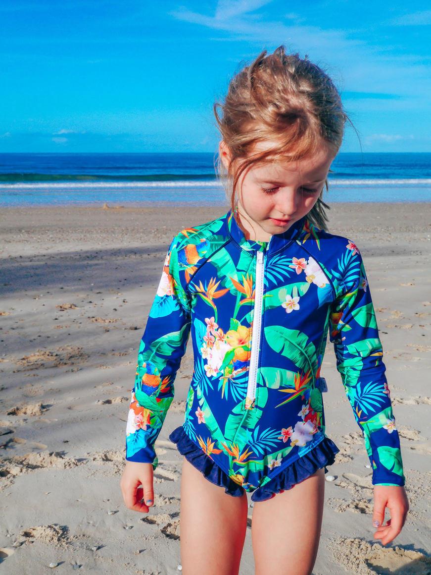 Lorikeet Love Girls Swimsuit | Trada Marketplace