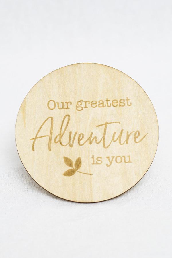 Adventure Milestone Disc   Trada Marketplace
