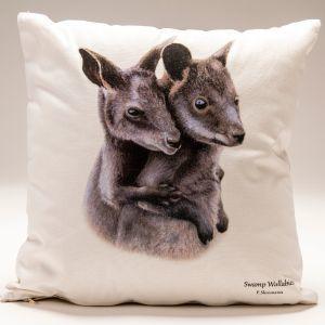 Cushion Covers - Swamp Wallabies   Trada Marketplace