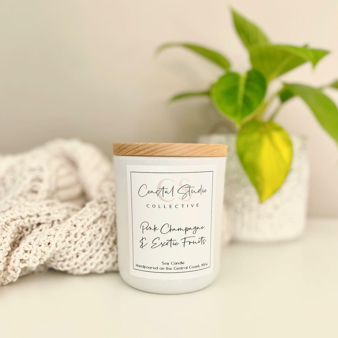 Classic Collection Soy Candle / White   Trada Marketplace