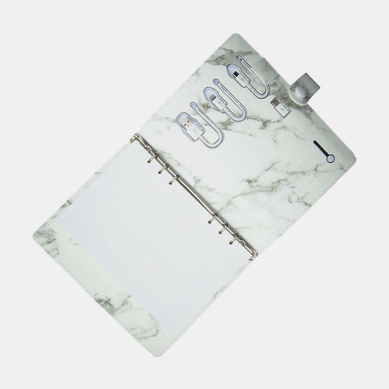PowerBank Notebook - Marble  | Trada Marketplace