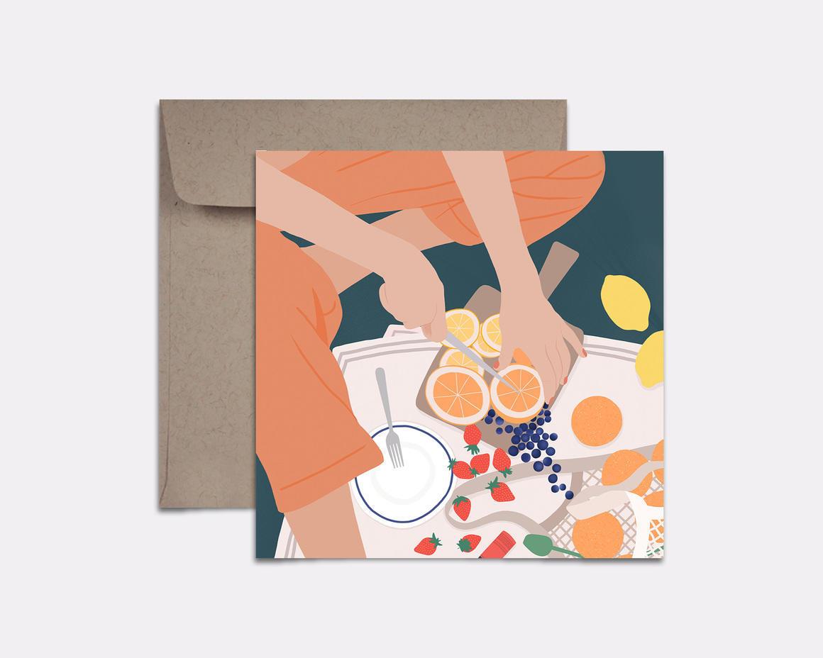 Summer Picnic Card | Trada Marketplace