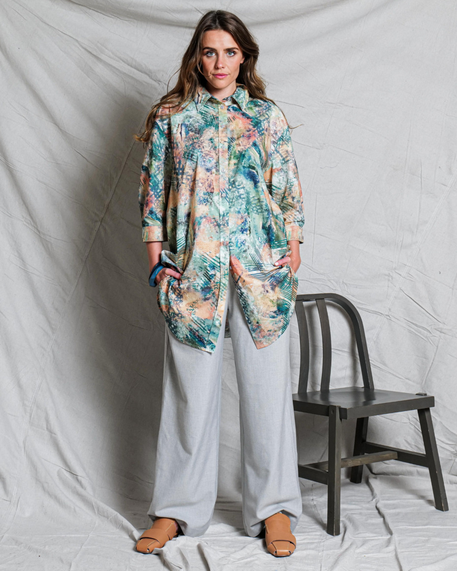 Camille oversized shirt | Perception | Trada Marketplace