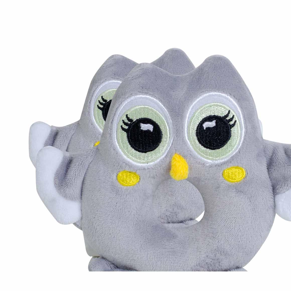BibiBaby Cuddle Rattle - Toot Owl   Trada Marketplace