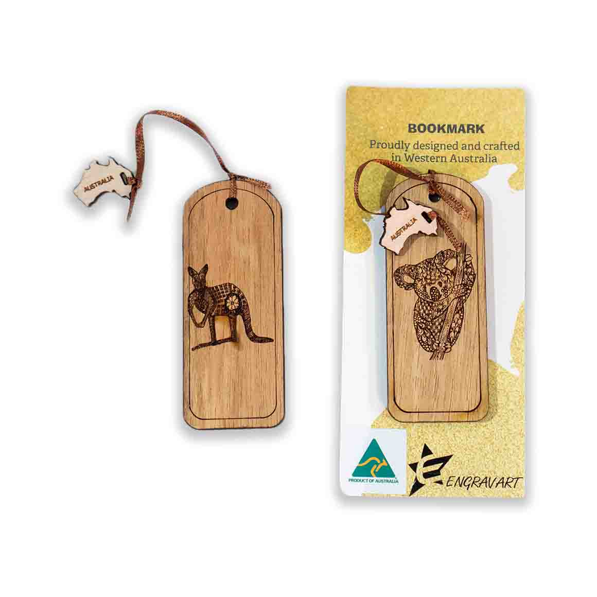 Bookmarks - Natural Koala | Trada Marketplace