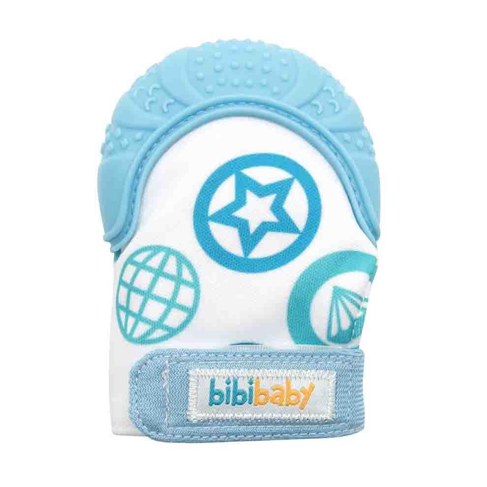 BibiBaby Teething Mitts - Blue   Trada Marketplace