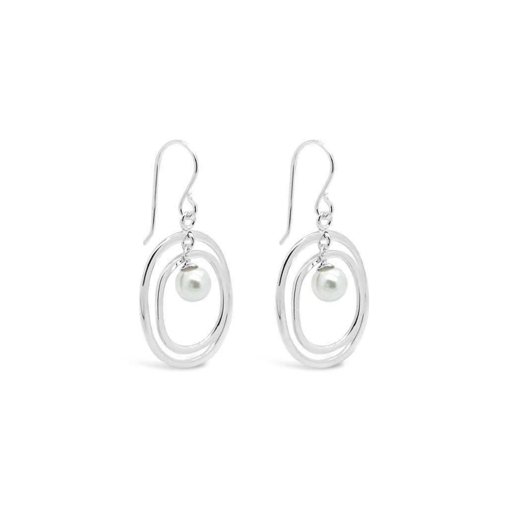 Pearl Halo Earrings | Trada Marketplace