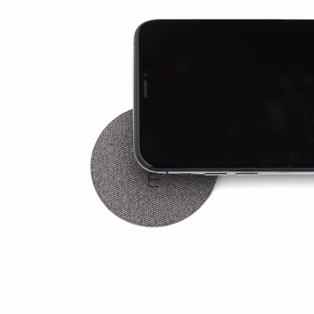 Moon Wireless Charging Pad Fabric Black | Trada Marketplace