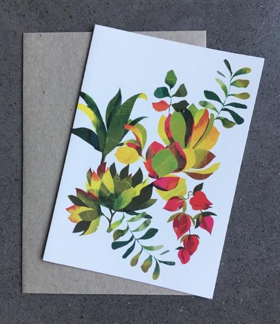 Succulent Card | Trada Marketplace
