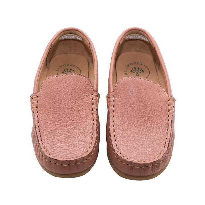 Dusty Pink Leather Loafer - Children | Trada Marketplace