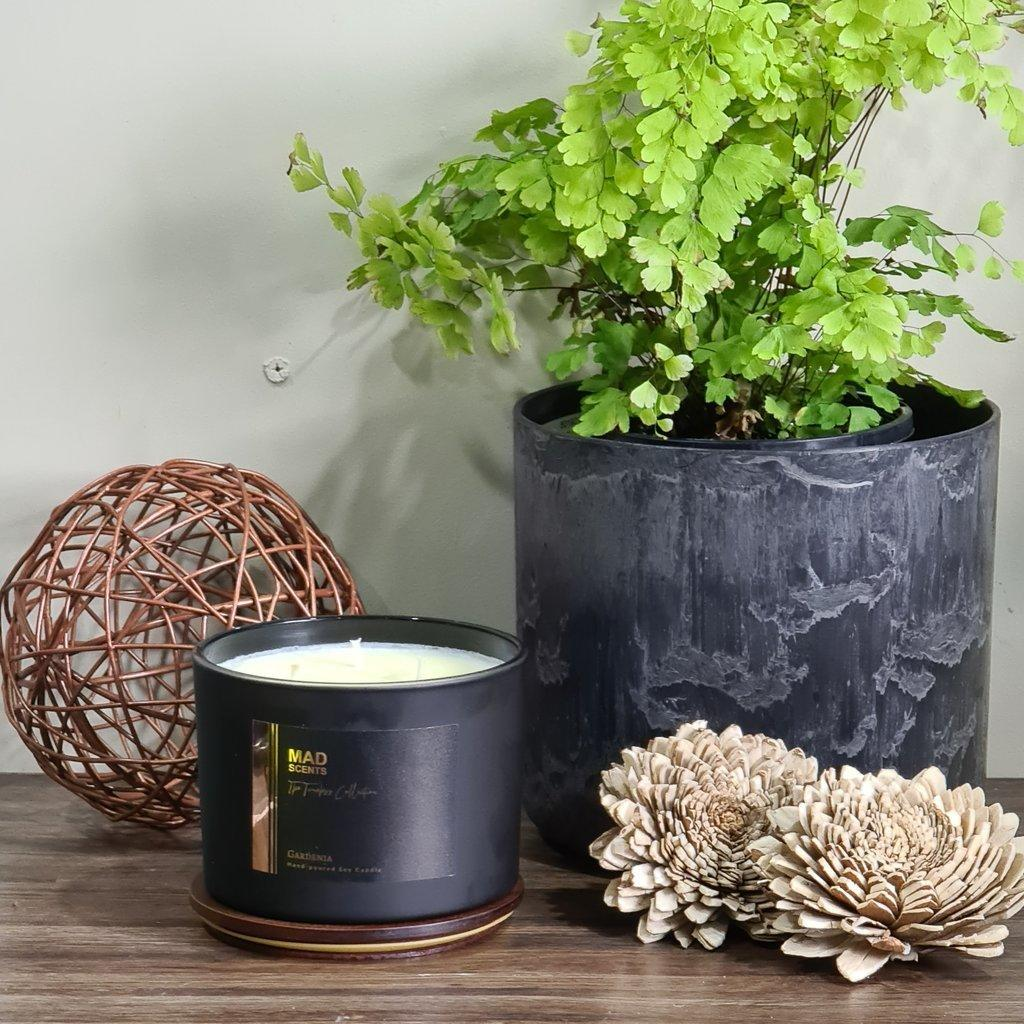 Gardenia - squat candle | Trada Marketplace