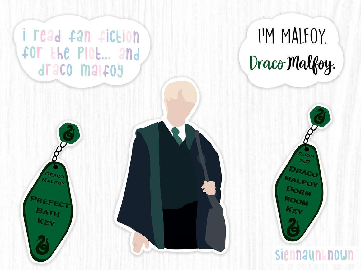 Draco Malfoy Stickers | Trada Marketplace