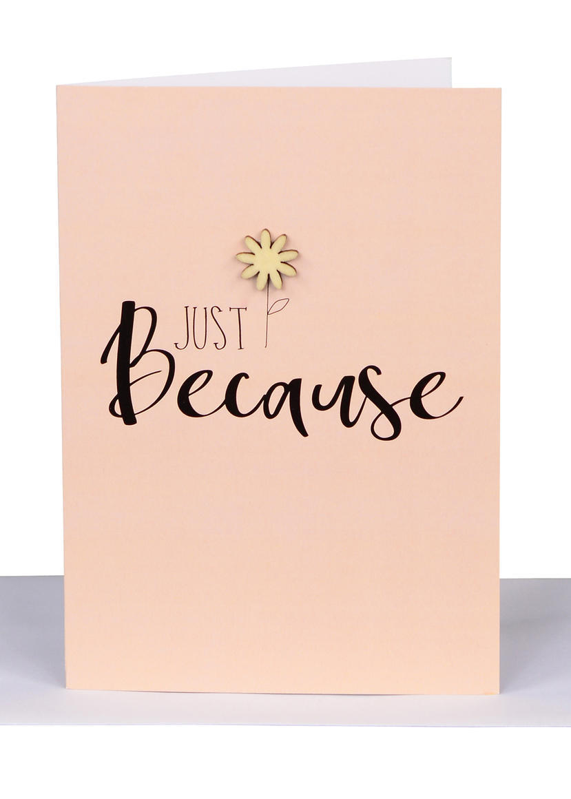 Just Because Gift Card | Trada Marketplace