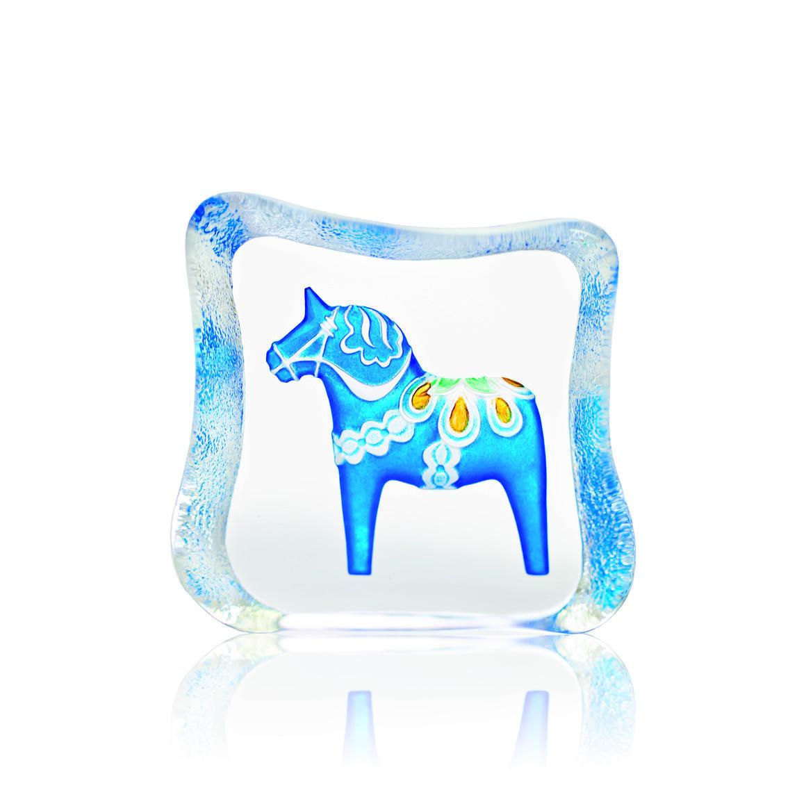 Dalecarlia Horse, blue, traditional | Trada Marketplace