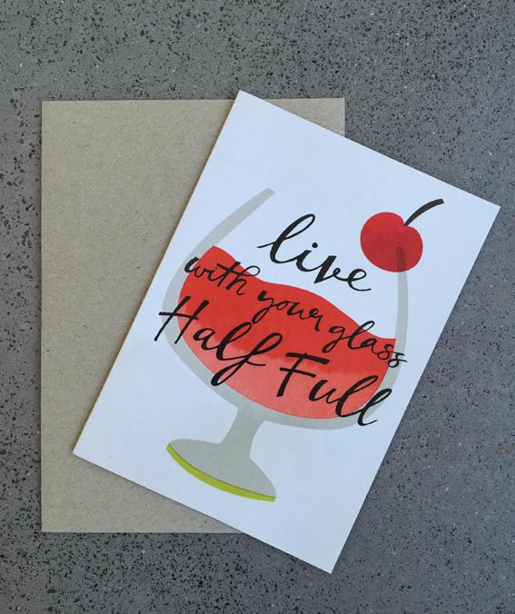 Half Full Card | Trada Marketplace