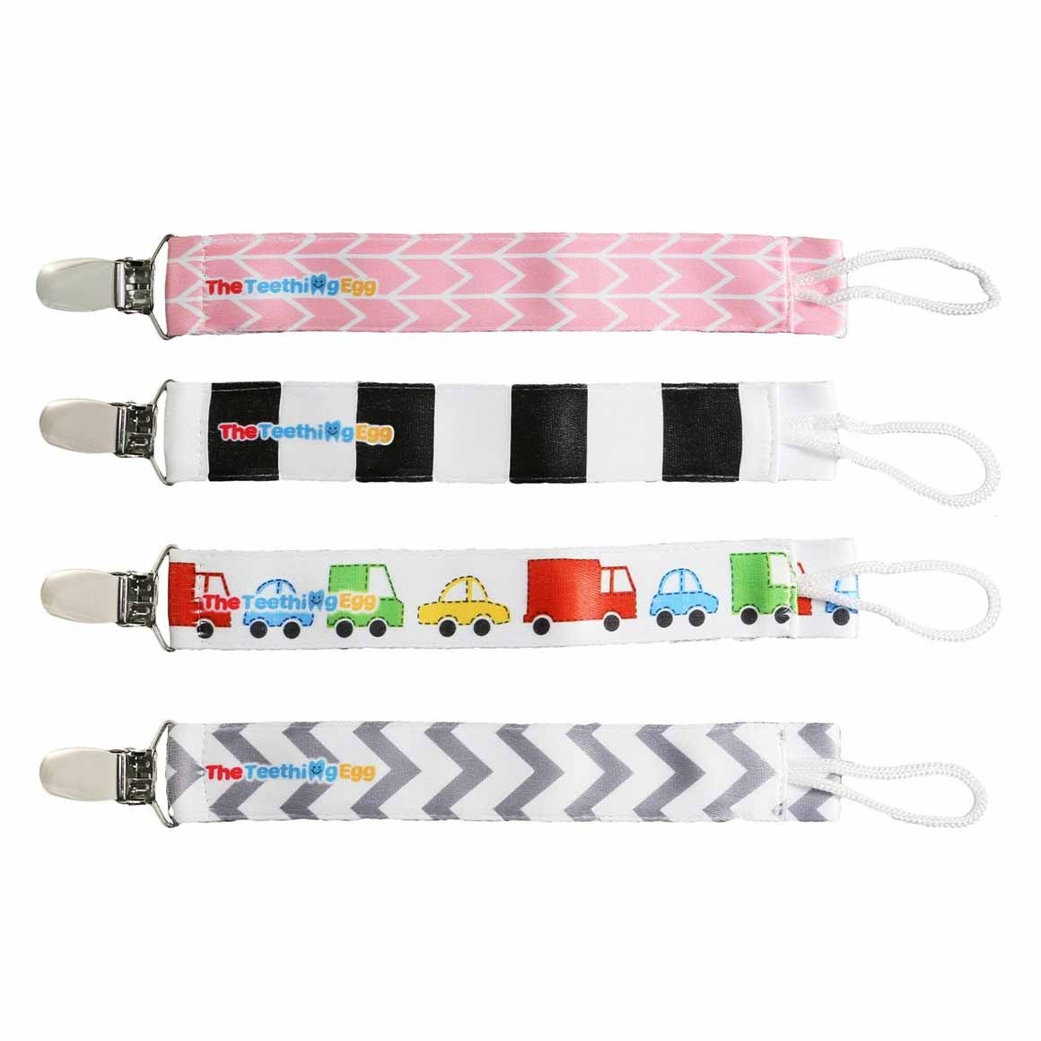 Soother Strap Pink Arrow | Trada Marketplace