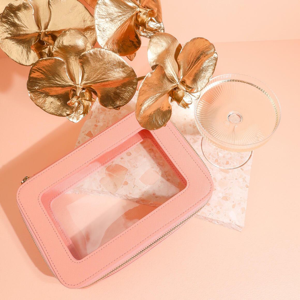 Peach Cosmetic Bag - Medium | Trada Marketplace