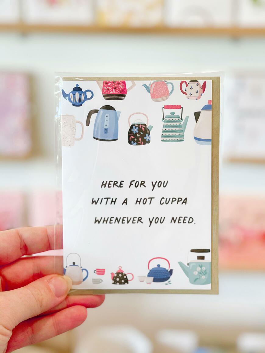 Here For You With A Cuppa   Trada Marketplace