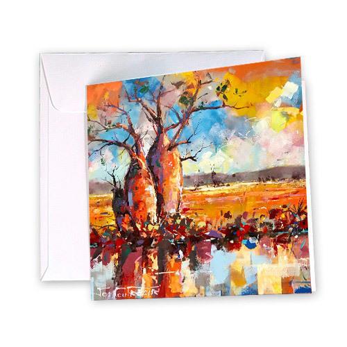 Boab Trees Greeting Card | Trada Marketplace